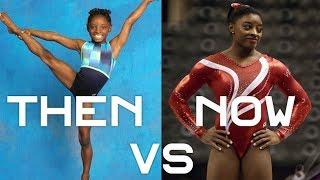 Download Simone Biles then (2010) vs now (2016/2017) | Gymnastics Video
