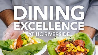 Download Dining Excellence at UC Riverside Video