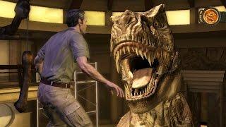 Download Jurassic Park: The Game (Telltale) - Episode 1, Part 7: Suck It Rex! Video