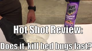 Download Hot Shot Review: Does it work to kill bed bugs? Video