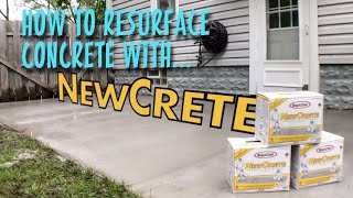 Download How to resurface your concrete with Rapid Set NewCrete Resurfacer Video