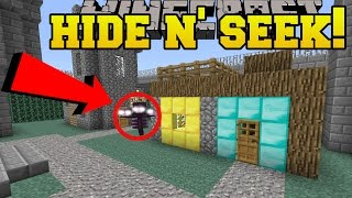Download Minecraft: WITHER HIDE AND SEEK!! - Morph Hide And Seek - Modded Mini-Game Video