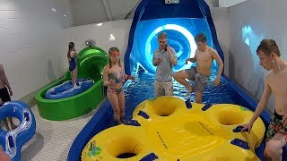 Download Snow Storm Water Slide at Alpamare Scarborough Video