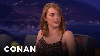 Download Emma Stone Is Obsessed With K-Pop - CONAN on TBS Video
