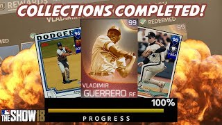 Download Immortal Vladimir Guerrero Unlocked! All Collections Completed! - MLB The Show 18 Diamond Dynasty Video
