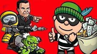 Download ВОРИШКА БОБ - игровой мультик для детей ГРАБИТЕЛЬ БОБ ограбил ДОМ и убегает от ОХРАННИКОВ и ЗОМБИ #8 Video