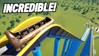Download THE HIGHEST LOG FLUME IN THE WORLD! (Planet Coaster Beta) Video