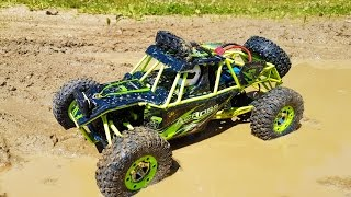 Download AMAZING RC 4WD test ride! Gearbest WLtoys 1/12 Scale Off Road Vehicle Video