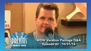 Download Walt Disney World Vacation Packages Question & Answer | 10/31/16 Video