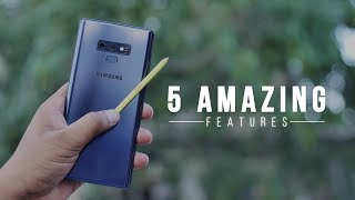 Download 5 Amazing Galaxy Note 9 Features in Action! Video
