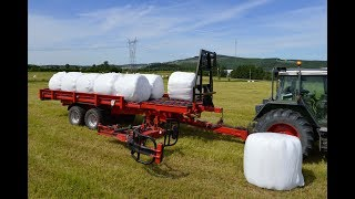 Download Anderson World First Silage Wrap Bale mover - RBMPRO 2000 - Agritechnica 2017 Hall 27 Video