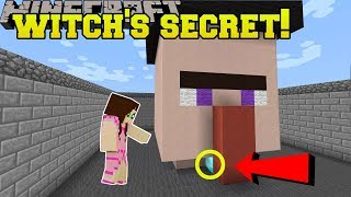 Download Minecraft: THIS WITCH HAS A SECRET!!! - Halloween Find The Button - Custom Map Video