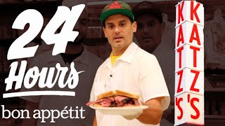 Download Working 24 Hours Straight at New York's Most Iconic Deli | Bon Appétit Video