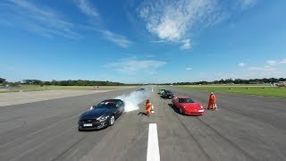 Download Dunsfold Wings & Wheels 2017 Day2 Cars on the Runway in 360. Video