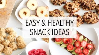 Download EASY HEALTHY SNACK IDEAS! Video