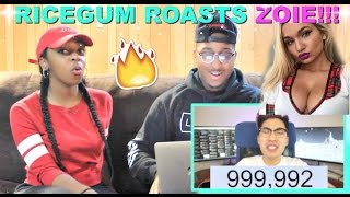 Download Ricegum ″Zoie Burgher Roasted Me? (DISS TRACK)″ Reaction!!! Video
