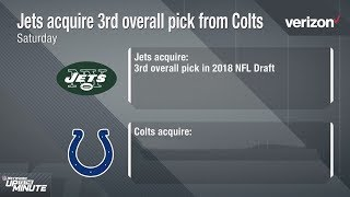 Download Why Did the Jets Trade Up for the 3rd Pick & What Does this Mean for the Colts? | NFL Video