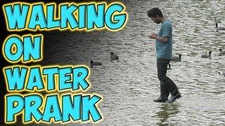 Download Walking on Water Prank Video