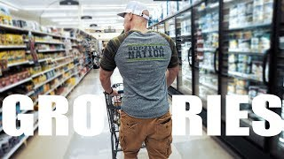 Download Healthy Bodybuilding Grocery Shopping | Save Money! Video