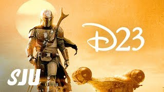Download D23 REACTION!   The Mandalorian, She-Hulk, Moon Knight, Ms. Marvel and Disney+ Video