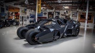 Download Batman's Tumbler - Jay Leno's Garage Video