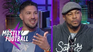 Download Former UFC Fighter Brendan Schaub and Comedian Finesse Mitchell Shake Things Up | Mostly Football Video