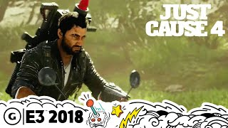 Download Just Cause 4's Tornadoes are Destructive and Imposing | E3 2018 Video