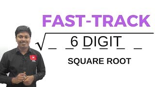 Download 6 DIGIT SQUARE ROOT TRICK # for all Competitive Exams Video