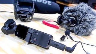 Download DJI OSMO Pocket Mic Adapter Tests // USB-C to 3.5mm Microphone Adapter Video