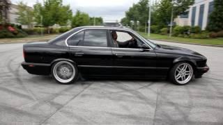 Download BMW e34 535i Burnout Video