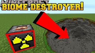 Download Minecraft: BIOME DESTROYING TNT!?!? - Explosives+ - Mod Showcase Video