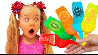 Download Diana makes fruit Ice Cream Video
