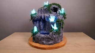 Download DIY Desktop Fountain with Enchanting LED Crystals Video
