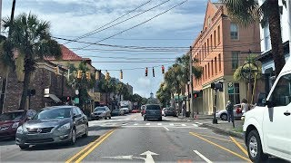Download Driving Downtown - Charleston - USA Video