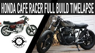 Download CAFE RACER BUILD, HONDA 400 FULL BUILD TIME LAPSE Video