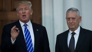 Download Donald Trump nomme ″l'enragé″ James Mattis à la tête du Pentagone Video