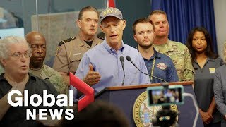 Download Florida governor gives update on Hurricane Michael preparations Video
