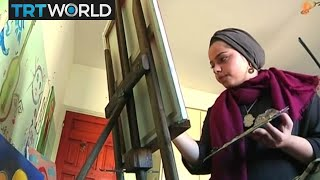 Download Palestinian artist Malak Mattar breaks down barriers with art Video