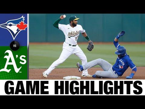 Blue Jays vs. A's Game Highlights (5/4/21) | MLB Highlights