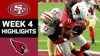 Download 49ers vs. Cardinals   NFL Week 4 Game Highlights Video