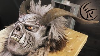 Download Finishing a Krampus Mask ►► Timelapse Video