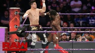 Download TJ Perkins vs. Rich Swann vs. Noam Dar - No. 1 Contender's Match: Raw, Nov. 21, 2016 Video