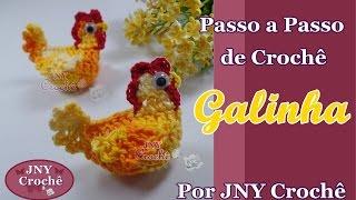 Download Galinha de Crochê Passo a Passo - JNY Crochê Video