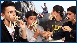 Download Janoskians Peg Challenge in London - European Vacation Ep 1 Video
