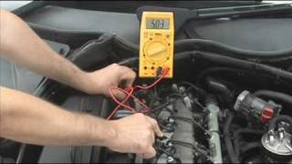 Download Testing CAM or CamShaft Position Sensor Hall Effect Type Video