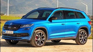 Download 2019 Skoda Kodiaq RS - Sporty 7-Seater SUV Video