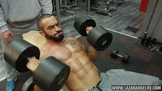 Download Lazar Angelov Chest/Back Workout 2014 Video