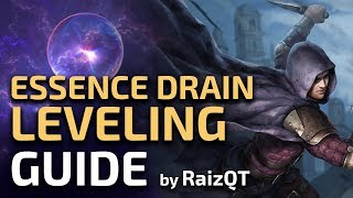 Download Essence Drain League start SSF speedrun guide - Trickster Leveling commentary Path of Exile Video