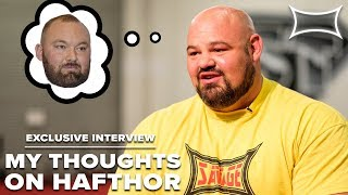 Download Brian Shaw Talks Hafthor Bjornsson & Pressures of Competing | Exclusive Interview Video
