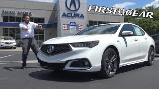 Download 2018 Acura TLX A-Spec - Review and Test Drive - First Gear Video